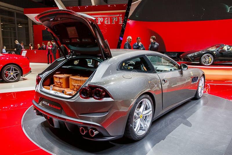 Ferrari GTC4 LU550 imágenes de archivo libres de regalías