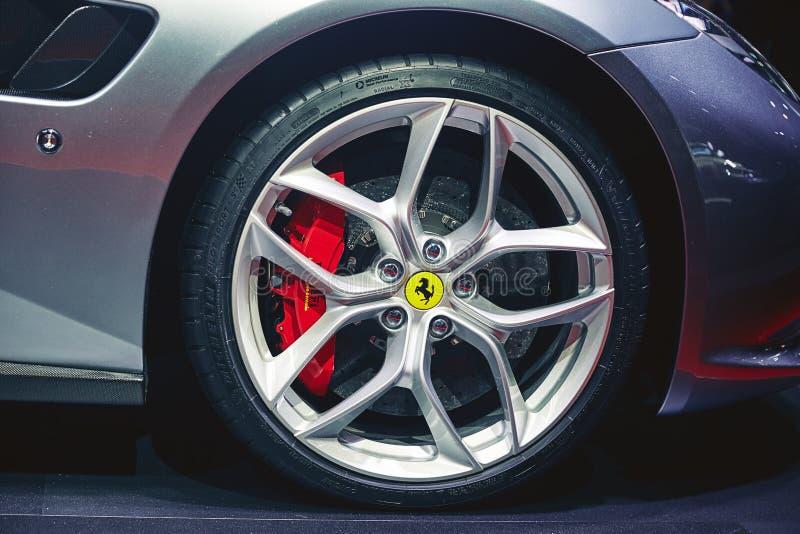 Download Ferrari 2017 GTC4 Lusso T redaktionell arkivfoto. Bild av dyrt - 78726213