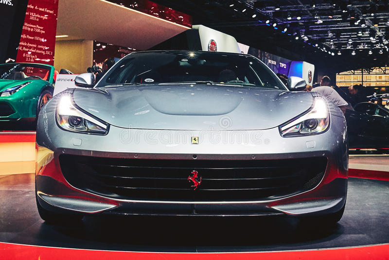 Ferrari 2017 GTC4 Lusso T lizenzfreies stockfoto