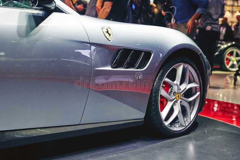 Download Ferrari 2017 GTC4 Lusso T redaktionell arkivfoto. Bild av härlig - 78726313