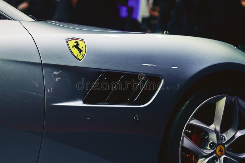 Ferrari 2017 GTC4 Lusso T royaltyfri foto