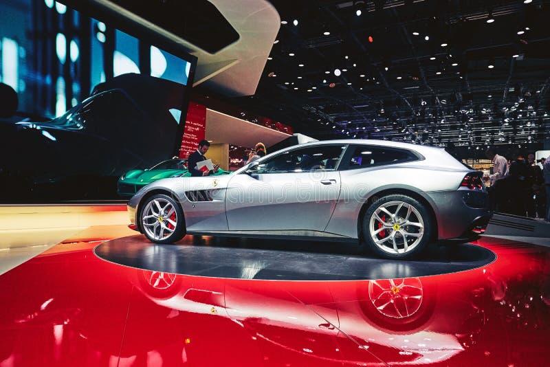 Download Ferrari 2017 GTC4 Lusso T redaktionell arkivfoto. Bild av france - 78726378