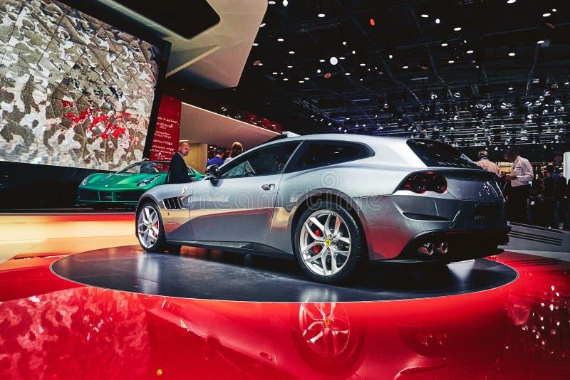 Download Ferrari 2017 GTC4 Lusso T redaktionell fotografering för bildbyråer. Bild av italy - 78726394