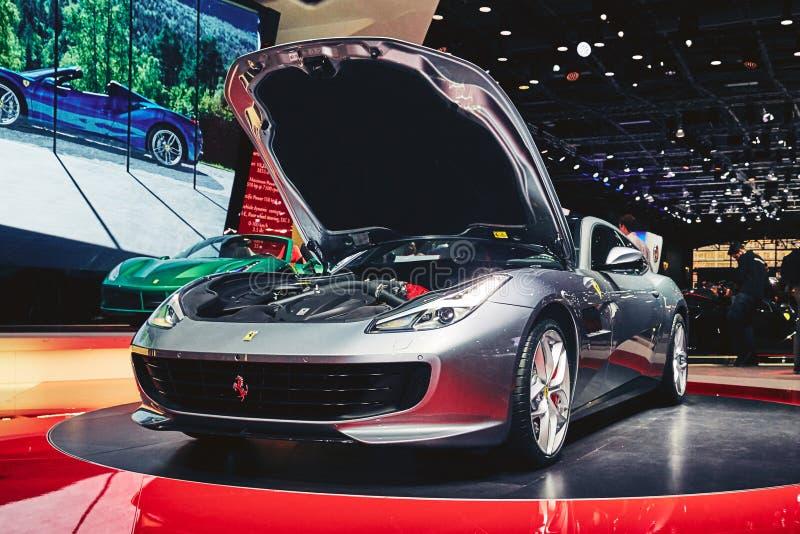 Download Ferrari 2017 GTC4 Lusso T redaktionell bild. Bild av ferrari - 78726396