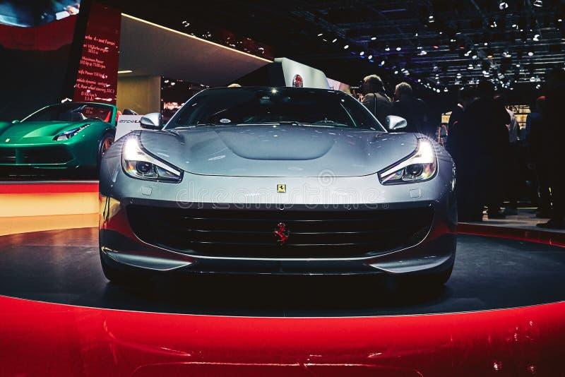 Download Ferrari 2017 GTC4 Lusso T redaktionell foto. Bild av design - 78726445