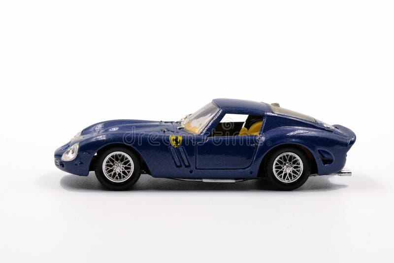 Ferrari 250 GTO small-scale model by Solido stock photos