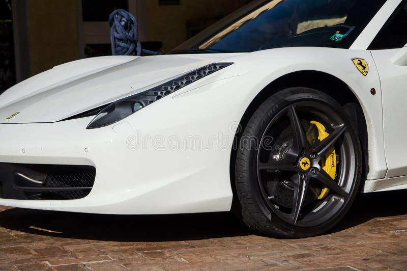 Ferrari 458 Italia royaltyfria foton