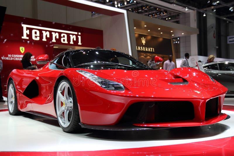 Ferrari LaFerrari - Geneva Motor Show 2013 stock images