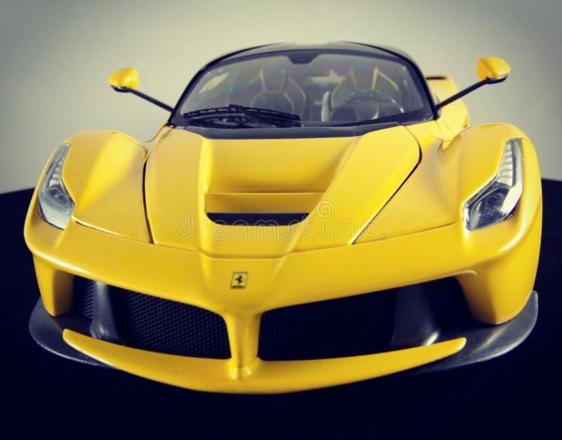 Ferrari LaFerrari 1:18 Hotwheels elite modelcar stock photography