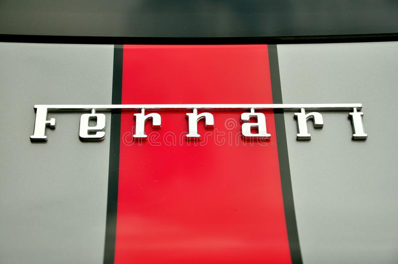Download Ferrari luxury car logo editorial stock image. Image of company - 22416644