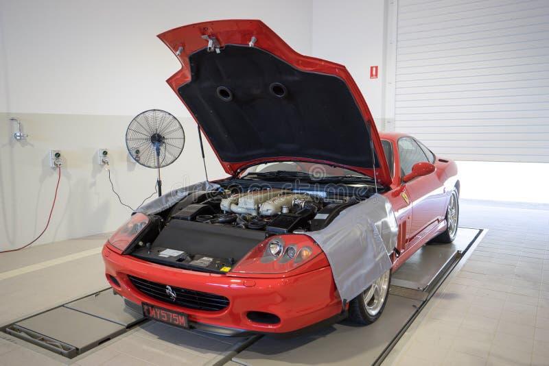 2002 Ferrari 575M Maranello stock photos