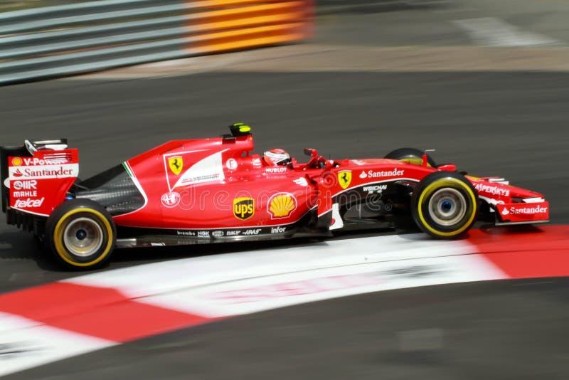 Ferrari Mônaco Prix grande 2015 fotos de stock royalty free