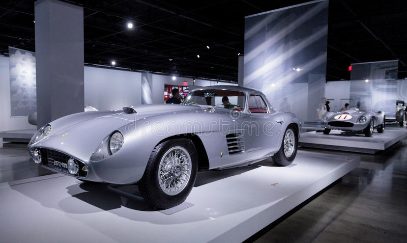 Ferrari 1954 375 milímetros fotografía de archivo