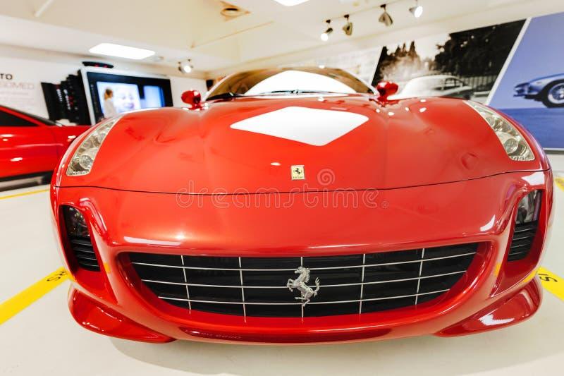 Ferrari Modern Car royalty free stock photo