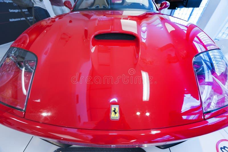Ferrari Modern Car stock images
