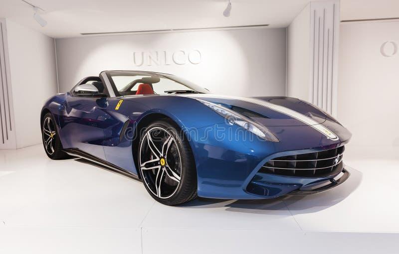 Ferrari Modern Car royalty free stock images