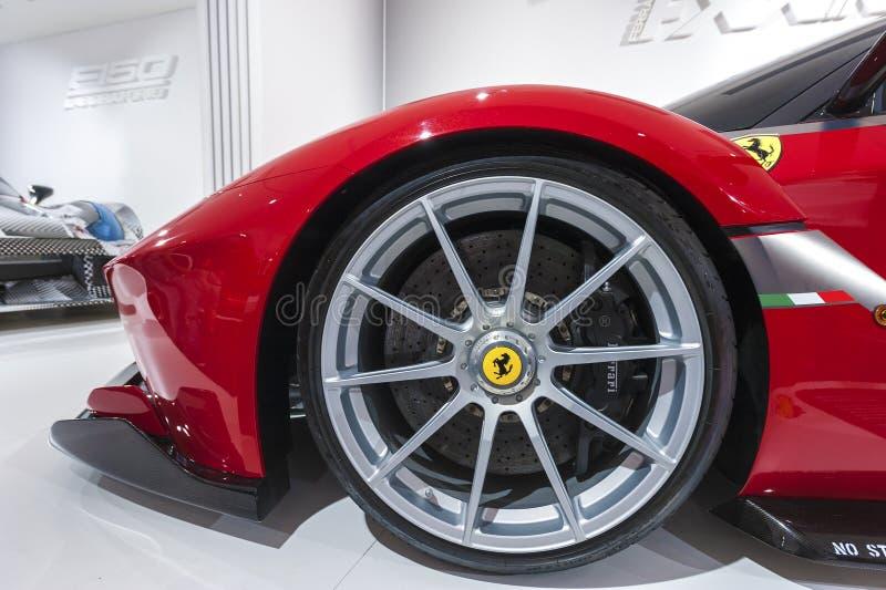 Ferrari Modern Car stock photos