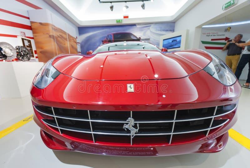 Ferrari Modern Car stock photography