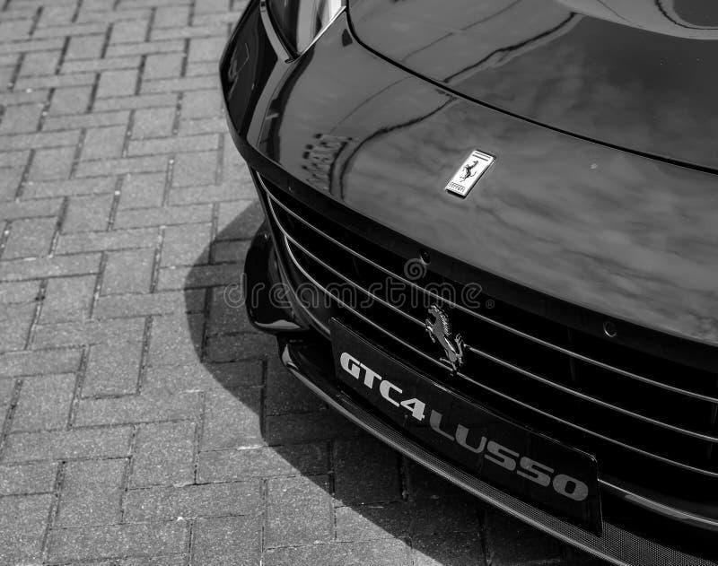 Ferrari moderno GT4C Lusso T imágenes de archivo libres de regalías