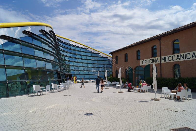 Ferrari museum arkivbild