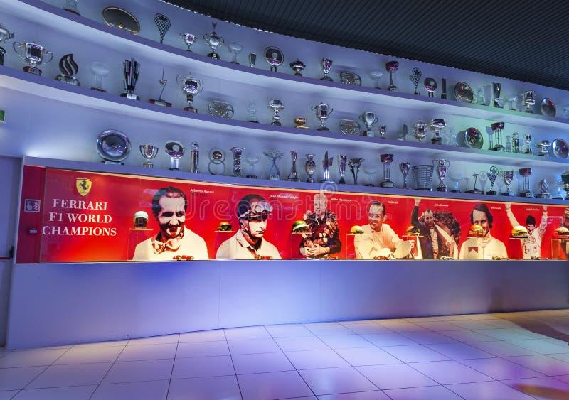 Ferrari Museum Hall royalty free stock photo