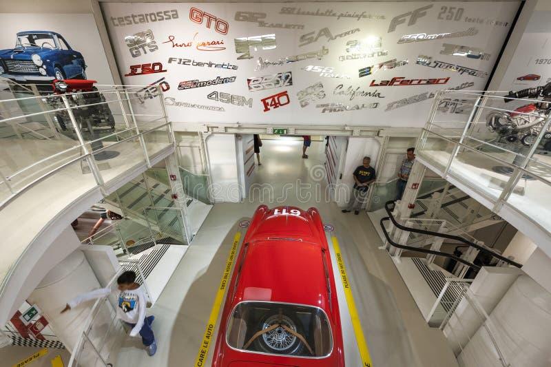 Ferrari Museum Hall stock photos
