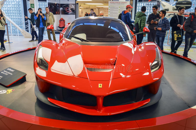 MARANELLO, ITALY   OCTOBER, 12 2013: Ferrari Sport Car Into The Ferrari  Museum