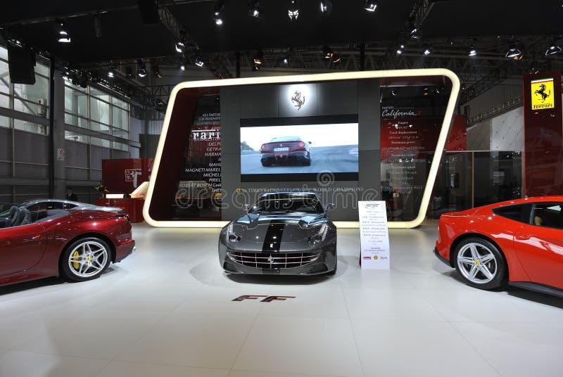 Ferrari pavilion stock image