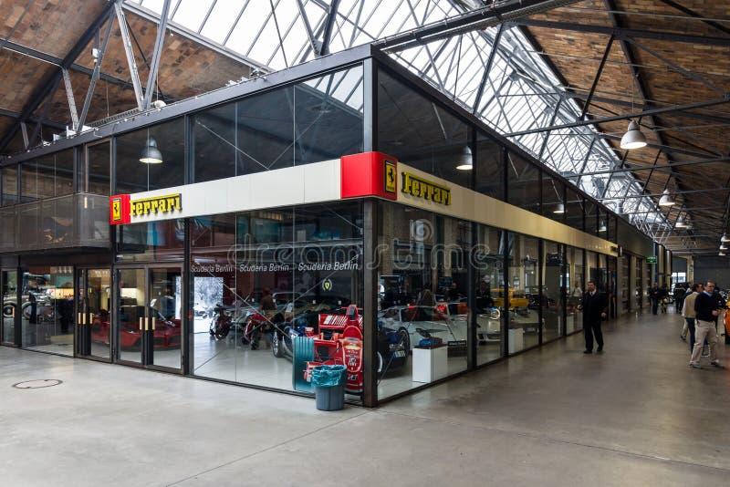 The Ferrari Pavilion. stock photos