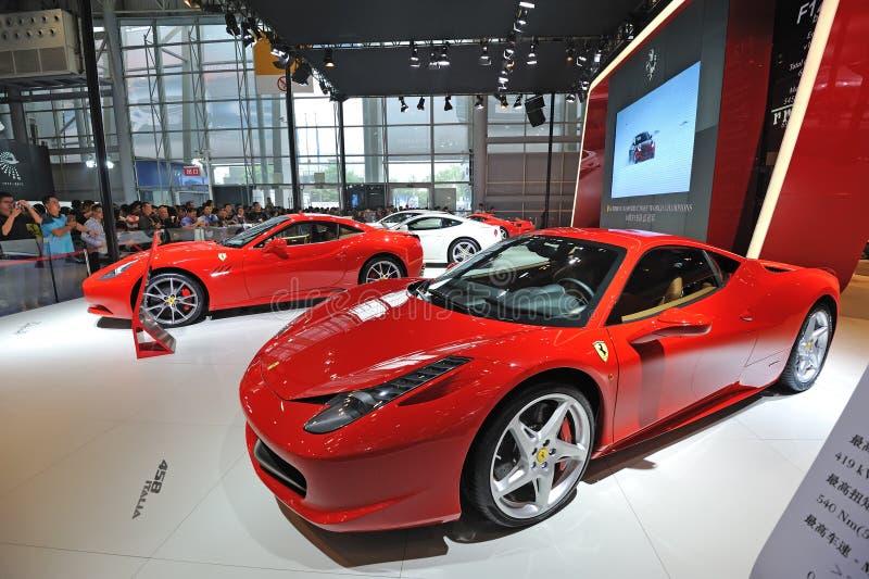 Ferrari pavilion stock photo