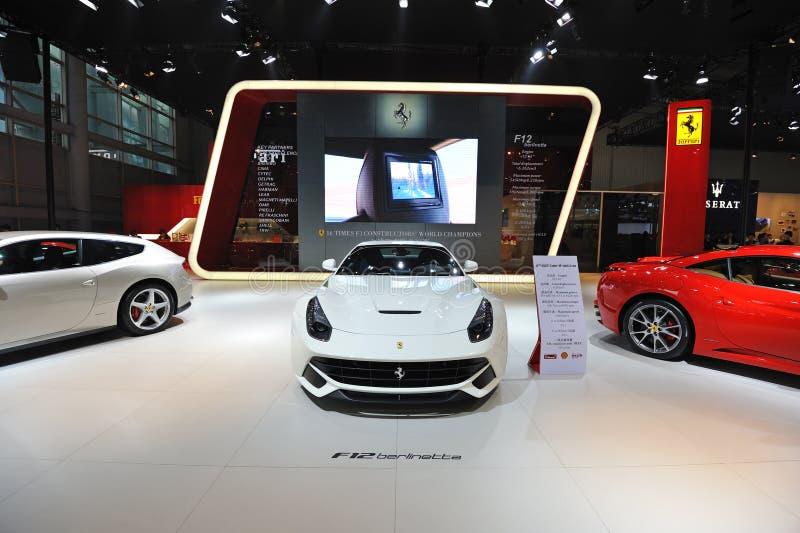 Ferrari pavilion stock images