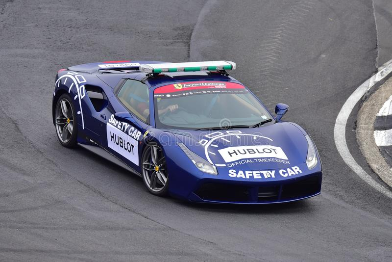 Download Ferrari 488 Safety Car At Ferrari Challenge Asia Pacific Series  Race On April 15,