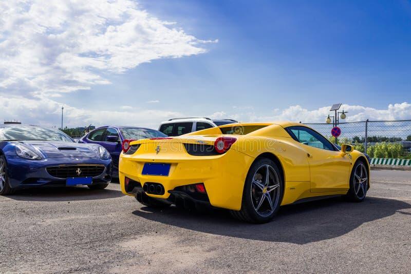 Ferrari samochody obraz stock