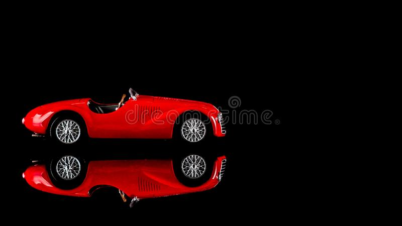Ferrari scale model stock photos