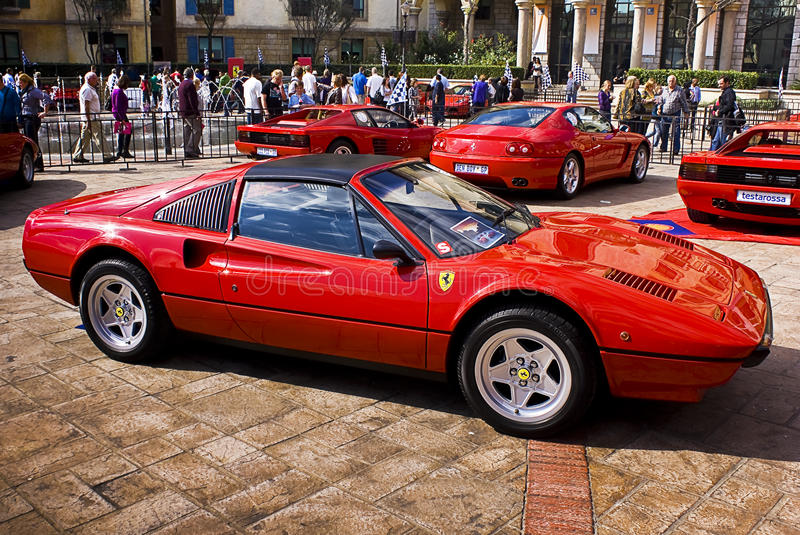 Download Ferrari Show Day - 308GTS editorial photography. Image of corsa - 14343592