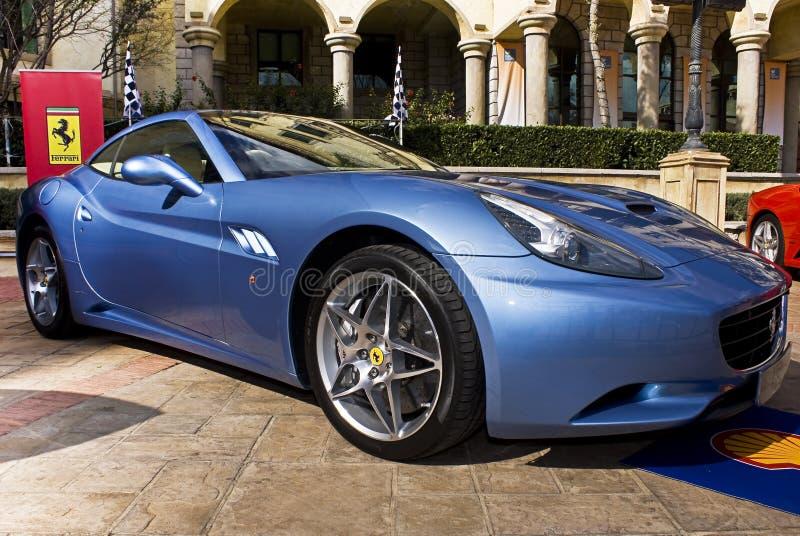 Download Ferrari Show Day - Ferrari California Azzuro Blue Editorial Photography - Image: 14582867