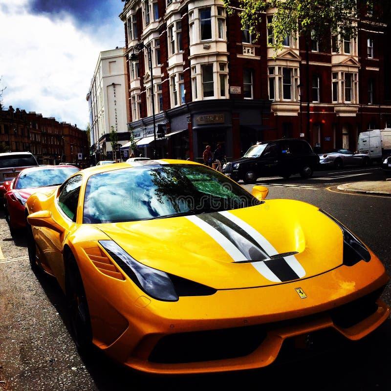Ferrari 458 Speciale a Londra immagini stock libere da diritti