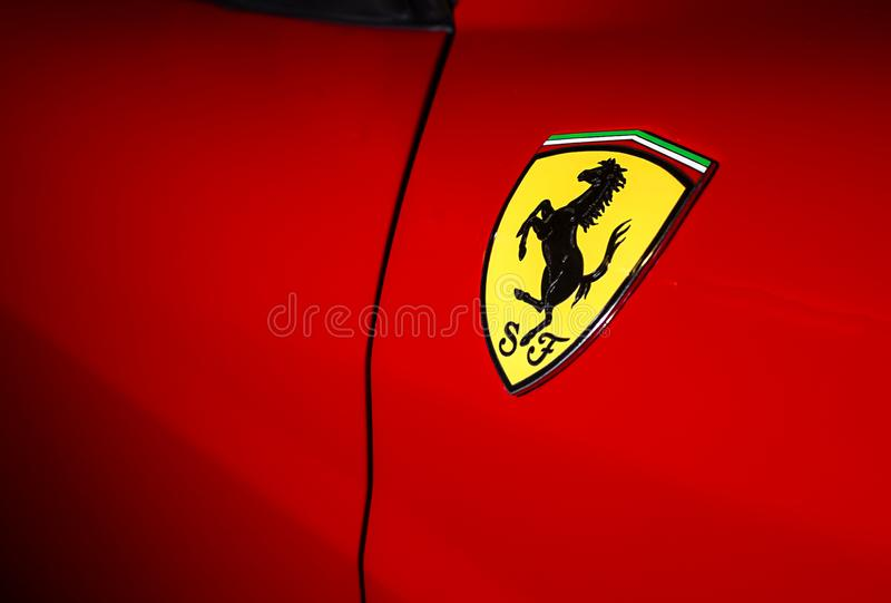 Ferrari-Speicher - Bucharest stockfotografie