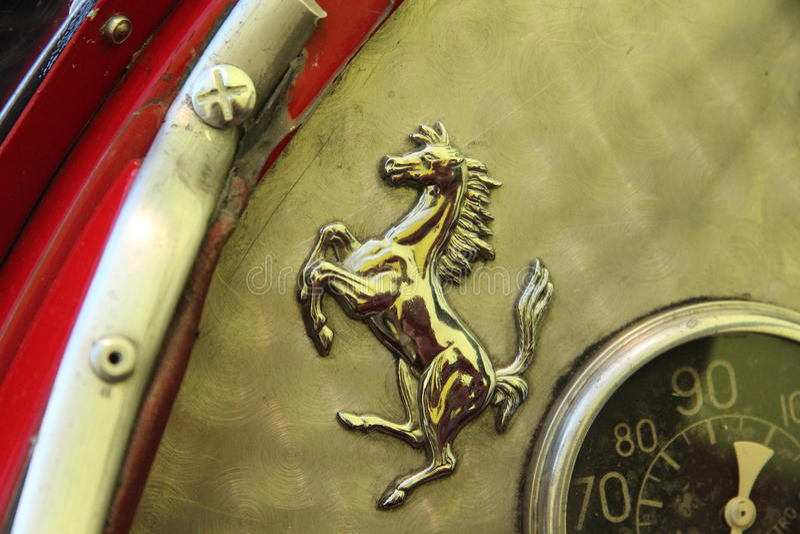 Ferrari-Speicher - Bucharest lizenzfreie stockbilder