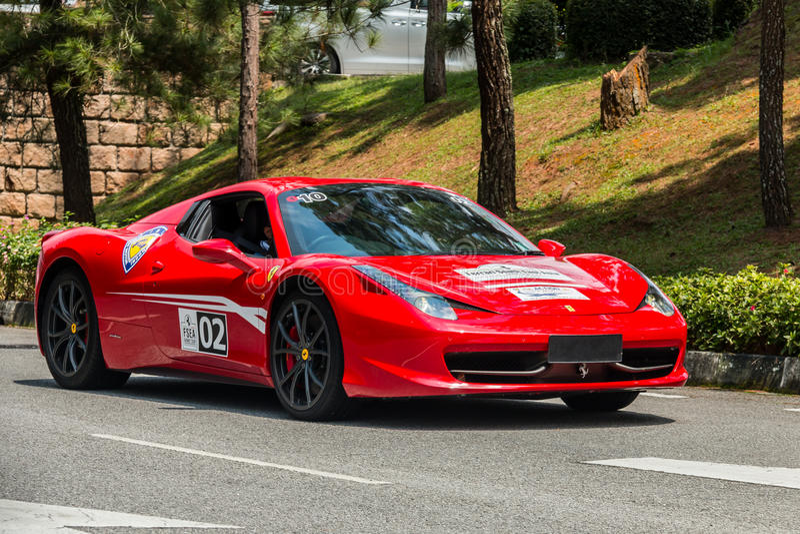 Ferrari 458 Spider royalty free stock photo