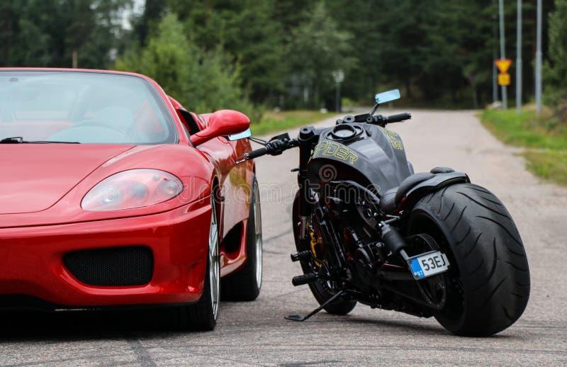 Ferrari 360 Spin stock foto's