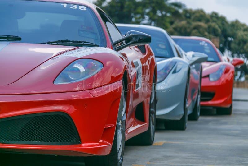 Ferrari Sport Car stock images