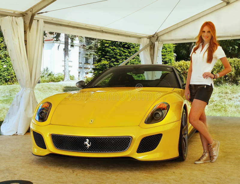 Ferrari, Sports Cars stock photography