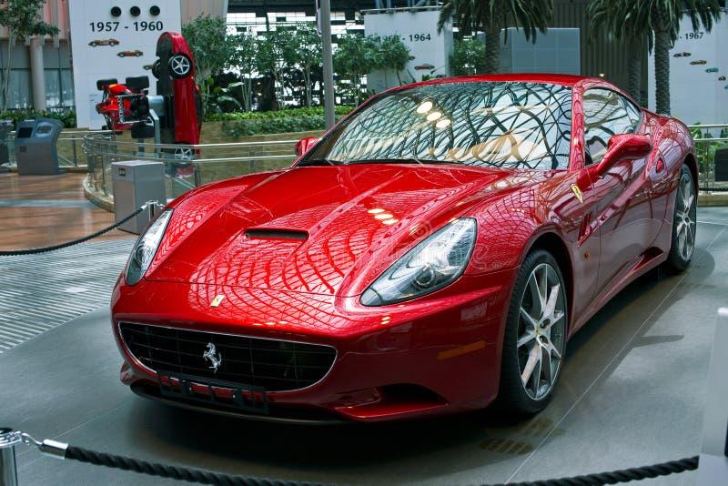 Ferrari Supercar royalty-vrije stock afbeelding