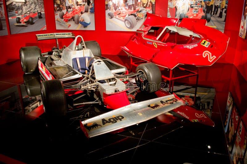 Ferrari T5 de Gilles Villeneuve photo libre de droits