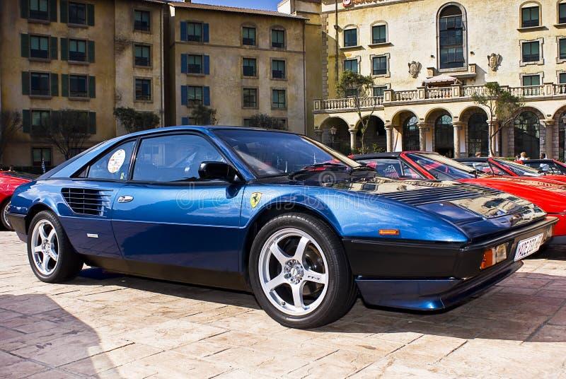 Ferrari toont Dag - Mondial 8 stock foto's