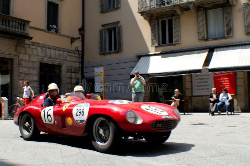 Ferrari 250 TR at Mille Miglia 2016 royalty free stock photos
