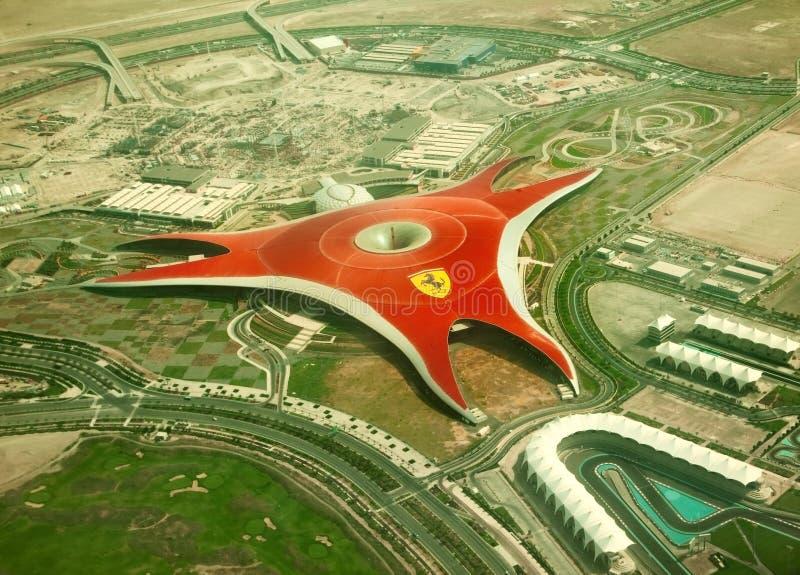 Ferrari World Park royalty free stock photo
