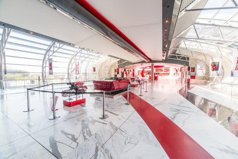 Ferrari World At Yas Island In Abu Dhabi Editorial Photo