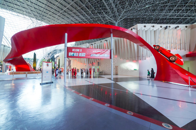 Download Ferrari World At Yas Island In Abu Dhabi Editorial Photography - Image of autoshow, automobile: 40147252